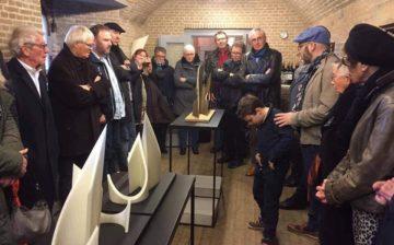 Opening Expositie in de Kruitmagazijnen: ICONEN /KUNSTVIRUS van Marco van Trigt