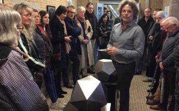 Expositie 'Ego's onderweg' door Dickjan Hoogstraten